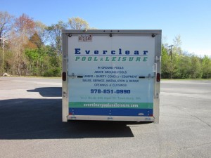 Truck lettering in Massachusetts from Sign Effects