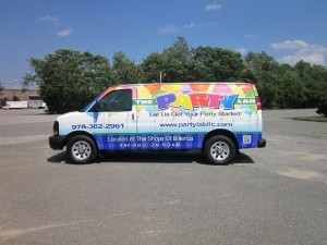 Vehicle wraps in MA from Sign Effects